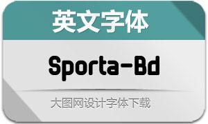 Sporta-Bold(英文字体),