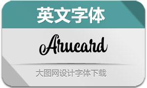 Arucard(英文字体)