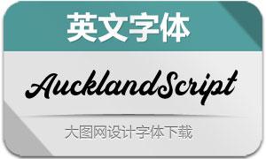 AucklandScript(英文字体)