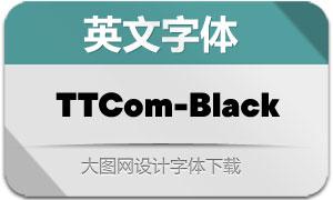 TTCommons-Black(英文字体)