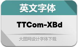 TTCommons-ExtraBold(英文字体)