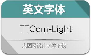 TTCommons-Light(英文字体)