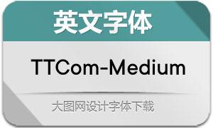 TTCommons-Medium(英文字体)