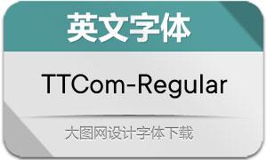 TTCommons-Regular(英文字体)