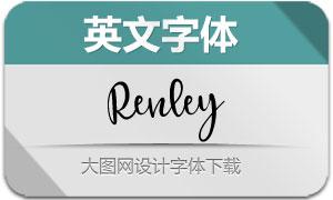 Renley(英文字体)