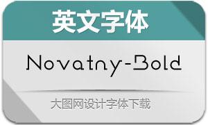 Novatny-Bold(英文字体)