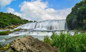 黄果树瀑布美景高清摄影图片