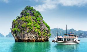 泰国大白菜岛美景摄影图片