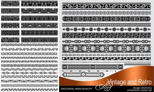 多种样式装饰分割线矢量素材集V08