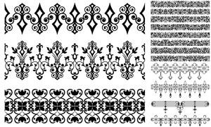 多种样式装饰分割线矢量素材集V11