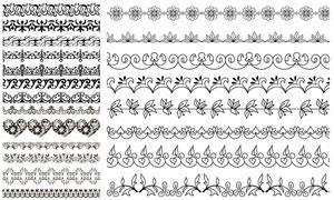 多种样式装饰分割线矢量素材集V12