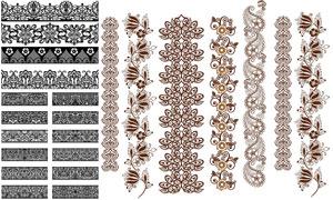 多种样式装饰分割线矢量素材集V14