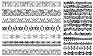 多种样式装饰分割线矢量素材集V16