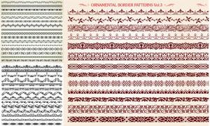 多种样式装饰分割线矢量素材集V17