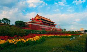 北京天安门古建筑摄影图片