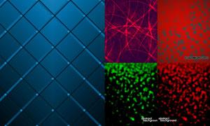 抽象背景创意设计矢量素材集合V01