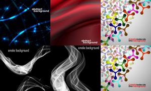 抽象背景创意设计矢量素材集合V05