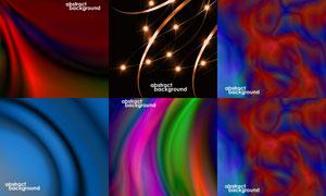 抽象背景创意设计矢量素材集合V07