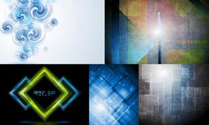 抽象背景创意设计矢量素材集合V12