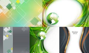 抽象背景创意设计矢量素材集合V24