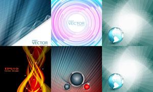 抽象背景创意设计矢量素材集合V32