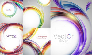 抽象背景创意设计矢量素材集合V33
