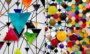 抽象背景创意设计矢量素材集合V36