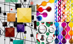 抽象背景创意设计矢量素材集合V37