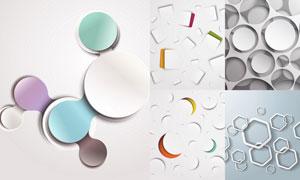 抽象背景创意设计矢量素材集合V38
