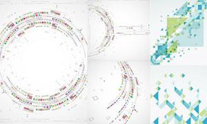 抽象背景创意设计矢量素材集合V43