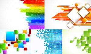 抽象背景创意设计矢量素材集合V47