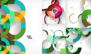 抽象背景创意设计矢量素材集合V57