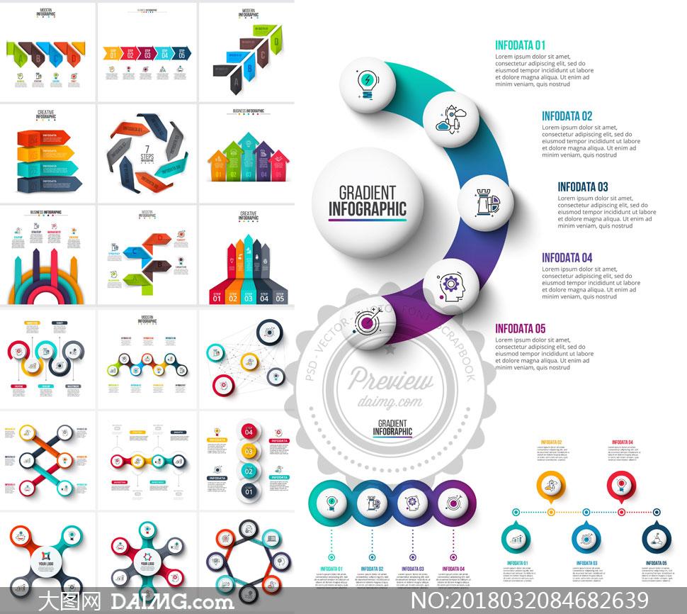 关 键 词: 矢量素材矢量图设计素材创意设计信息图表流程图表步骤