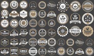 商品多用途的标签创意设计矢量素材