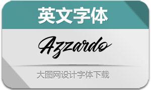 Azzardo(英文字体)
