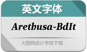 Arethusa-BoldItalic(英文字体)