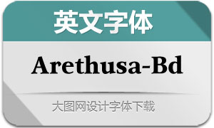 Arethusa-Bold(英文字体)