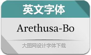 Arethusa-Book(英文字体)