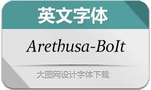 Arethusa-BookItalic(英文字体)