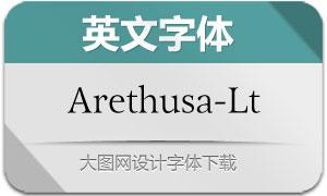 Arethusa-Light(英文字体)