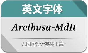 Arethusa-MediumItalic(英文字体)