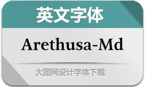 Arethusa-Medium(英文字体)