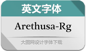 Arethusa-Regular(英文字体)