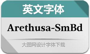 Arethusa-SemiBold(英文字体)