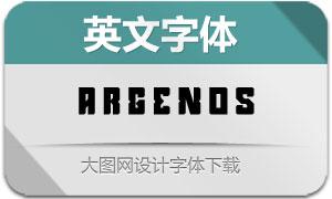 Argenos(英文字体)