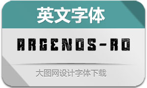 Argenos-Rough(英文字体)