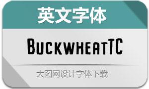 BuckwheatTC系列六款英文字体