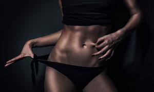 减肥瘦身增肌运动美女摄影高清图片