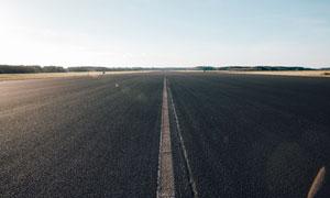 幅面宽广公路自然风光摄影高清图片