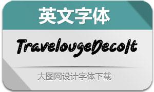 TravelougeDecorativeIt(英文字体)